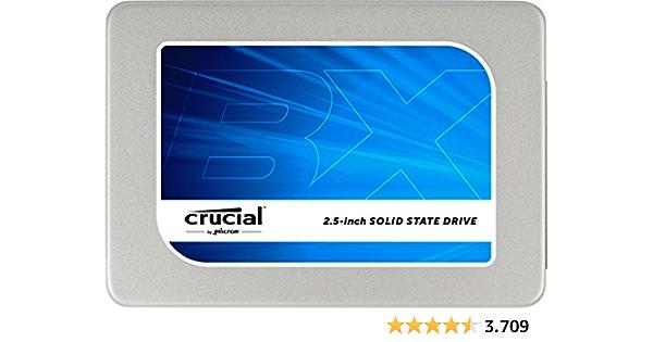 "Crucial BX200 - Disco Duro sólido (960 GB, Serial ATA III, 540 MB/s, 2.5"")"