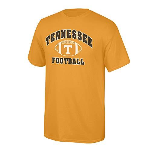 Elite Fan Shop NCAA Men's Tennessee Volunteers Team Color Football T-shirt Tennessee Volunteers Orange Small