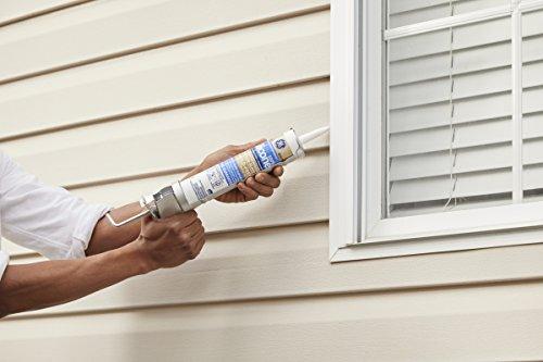 GE GE5000 Silicone 2+ Window & Door Sealant Caulk, 10.1oz, Clear