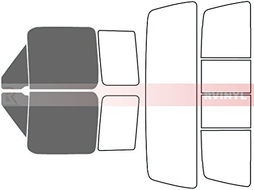 - Rtint Window Tint Kit for Ford F-150 1992-1996 (2 Door) - Front Kit - 35%