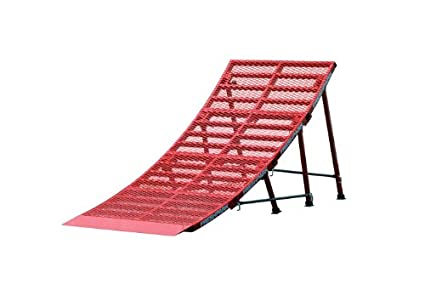 ada08dd33610 FreshPark Ricky Johnson Portable Moto and Bike Jump Ramp (Red, Large)