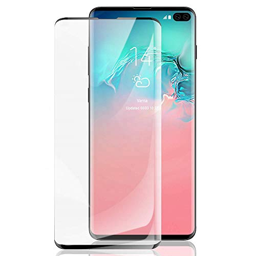 Id Screen - [2 Pack] HD Galaxy S10 5G Screen Protector [Fingerprint ID Enabled] Tempered Glass [3D Full Edge Covered] [9H Hardness] Case Friendly Glass Protector for Samsung Galaxy S10 5G