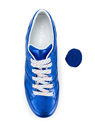 Blu Donna Pelle Sneakers GYW3520T548SV0U605 Hogan Wfpq1zzB