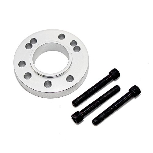 - Assault Racing Products 2259 Satin Glimer Crank Pulley Spacer with Bolts SBC BBC SBF BBF