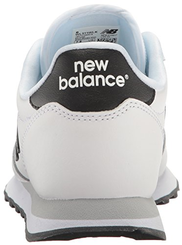 New Balance Dames 311 Lifestyle Fashion Sneaker Wit / Zwart