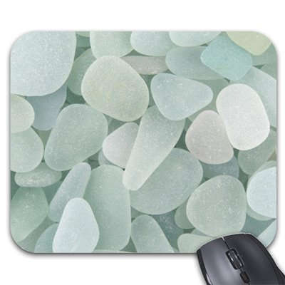 Starings Mouse Pads Aqua Sea Glass Mouse Mat
