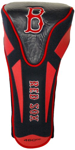 (Team Golf MLB Boston Red Sox Golf Club Single Apex Driver Headcover, Fits All Oversized Clubs, Truly Sleek)