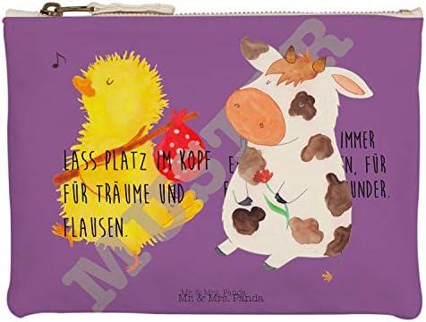 Mr. & Mrs. Panda M Maquillaje Vaca – 100% Handmade – Vaca, Vacas, Träume, flausen, Alemán, Magia, diseño Tion, Granja, Patio, leche, leche vaca Maquillaje, Neceser, Neceser, LandLeder, funda, estuche, Makeup: Amazon.es: Hogar