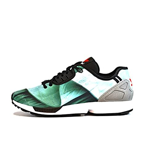 24efa6f5b Adidas ZX Flux Decon (NYC Statue of Liberty Photo Print Pack) best ...