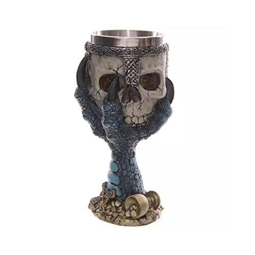 Amazon.com: xing - Taza de acero inoxidable y resina, diseño ...