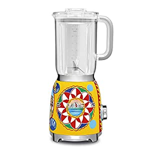 "Dolce and Gabbana x Smeg Countertop Blender BLF01DGUS,""Sicily Is My Love,"" Collection 11"