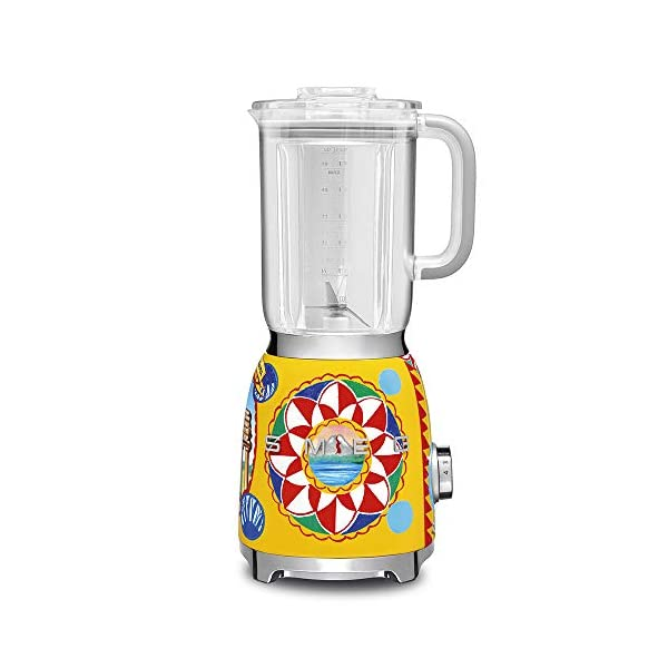 """Dolce and Gabbana x Smeg Countertop Blender BLF01DGUS,""""Sicily Is My Love,"""" Collection 1"""