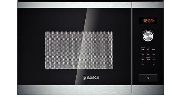 Bosch HMT84M654 Integrado 25L 900W Negro, Plata - Microondas ...