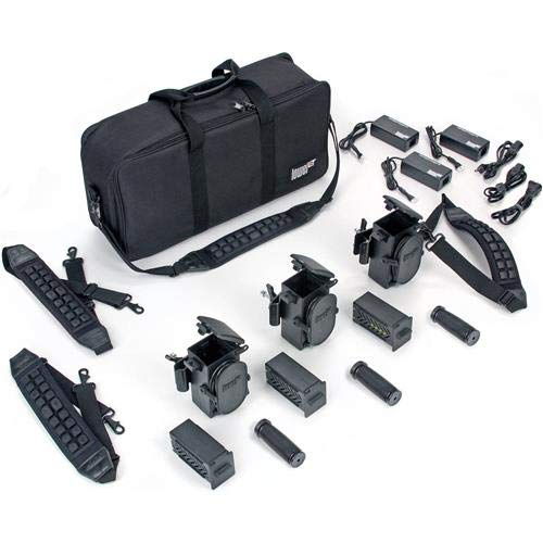 Lowel G5-99DC PRO Power LED 3-Battery Kit with LB-24 Soft Case