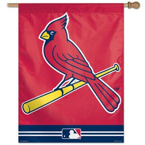 "MLB St. Louis Cardinals Retro Banner, 27""x37"", Team Color"