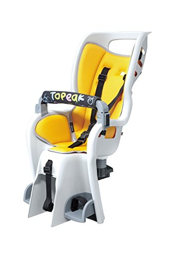 Topeak Baby Seat II 26in Non-Disc Rack Bicycle Baby Seat with Extra Rack & Two RedLite Bright Tail Lights Kit by Topeak (Image #1)