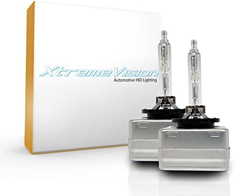 D1S // D1R // D1C XtremeVision HID Xenon Replacement Bulbs 1 Pair - 2 Year Warranty 4300K Daylight