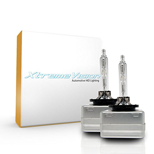 XtremeVision HID Xenon Replacement Bulbs - D1S / D1R / D1C - 5000K Bright White (1 Pair) - 2 Year Warranty