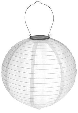 Led Solar Lampion Wetterfest Garten Beleuchtung Party Laterne Weiß