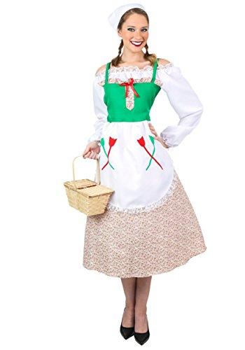 Fun Costumes Womens Plus Deluxe German Costume 1x (Lederhosen Womens Costume)