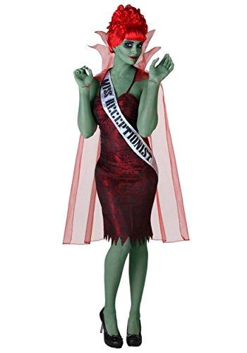 Plus Size Miss Dead Receptionist Costume 1X