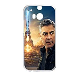 DIY phone case George Clooney cover case For HTC One M8 AS2K7748461