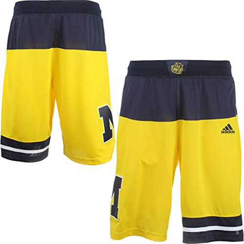 University of Michigan Wolverines Youth Yellow Replica Shorts (Youth X-Large)