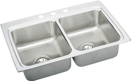 Stainless steel Elkay LR33220 Sink