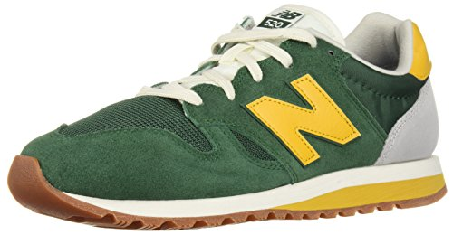 New Balance Men's 520v1 Sneaker, Team Forest Green/Varsity Gold, 8.5 D US