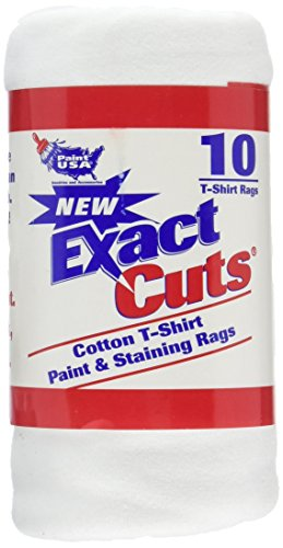 Intex Supply Co W-10001 Exact Cut T-shirt Paint & Staining Rags 14