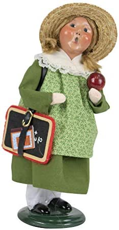 Byers Choice Schoolgirl Caroler Figurine from The Specialty Characters Collection 4847G