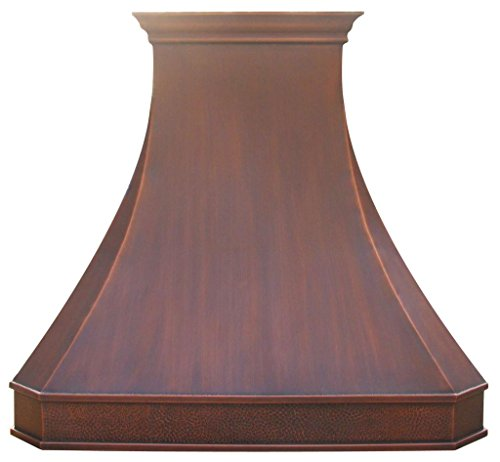 Copper Best H3 482139SD Antique Copper Range Hood with Liner and Internal Motor 48 inch (Rustic Vent Hoods compare prices)