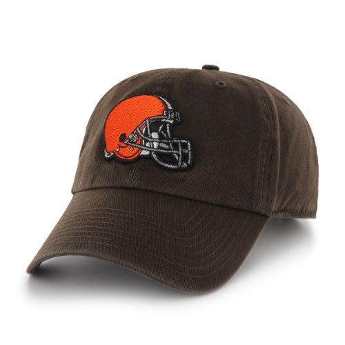NFL Cleveland Browns Breast Cancer Awareness Clean Up Cap, Brown, One Size