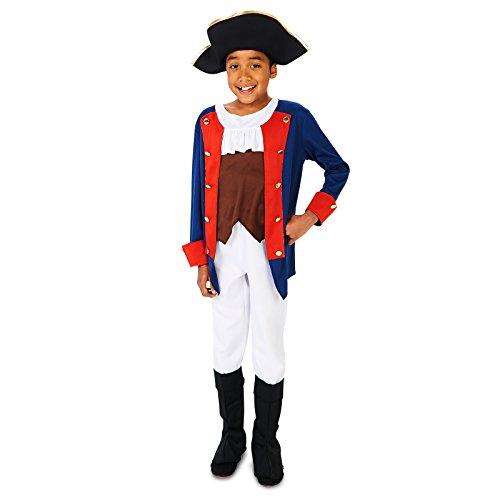 Patriot Soldier Boy Child Costume, Multicolor, S (4-6)