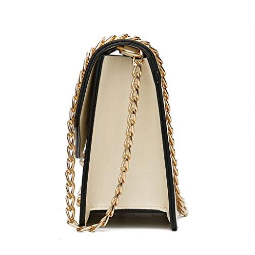 76x1 Bolso Negro 8 5x7x5cm Dabixx Color para 46x2 Negro Fashion Mujer Bandolera Negro 21 97 Bnq5wW4q7Y