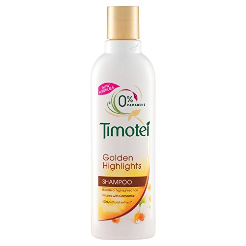 Timotei Shampoo & Conditioner Golden Highlights or Blond Infused with Camomile 400Ml/13.5fl.oz (Shampoo & Conditioner Golden Highlights or Blond Infused with Camomile, 2X400Ml/13.5fl.oz)