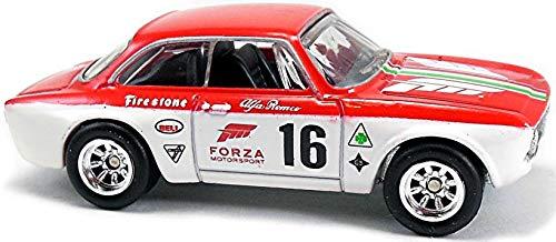 Red/White Alfa Romeo Giulia Sprint GTA Retro Forza Motorsport Series 1:64 Scale Collectable Die Cast Model Car - Diecast Sprint Car