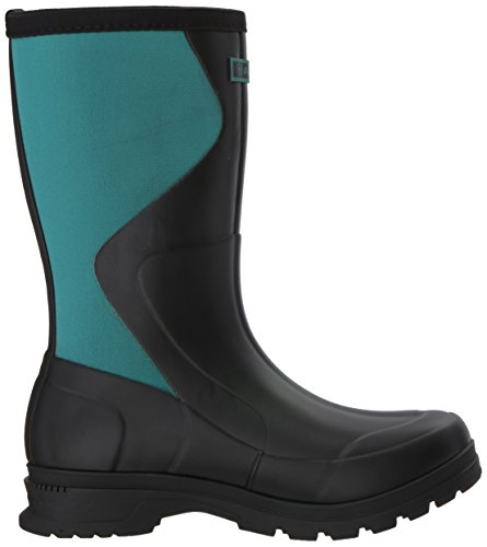 Stiv Womens Springfield Rubber Boot, Nero, 6 B Us Black