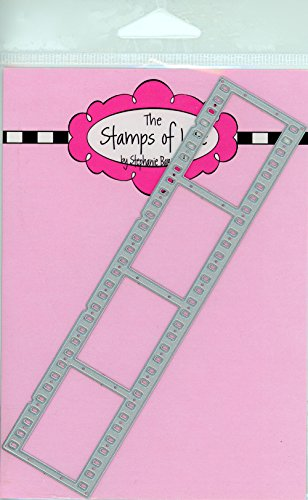 Filmstrip Card Making Dies for Scrapbooking and DIY Crafts and DIY Crafts by The Stamps of Life - Camera Die