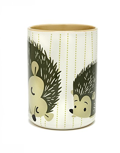 Hedgehog Coffee Mug White Striped