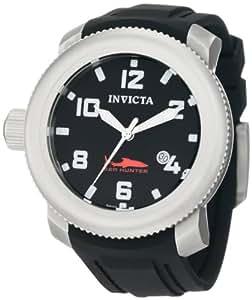 Invicta 1544 - Reloj para hombre con correa de caucho, color negro / gris