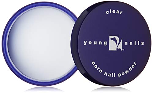 YOUNG NAILS Acrylic Core Powder, Clear, 85 g.