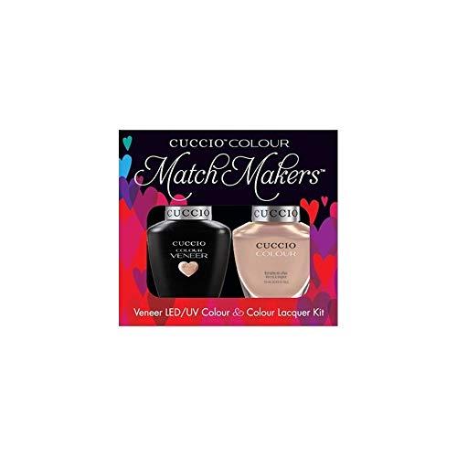 断線ビリーヤギ羨望Cuccio MatchMakers Veneer & Lacquer - I Want Moor - 0.43oz / 13ml Each