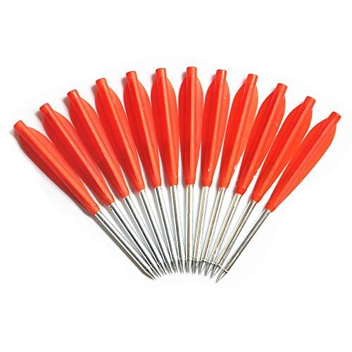 (PA 24PCS Red Aluminum Crossbow Bolts Arrows 5.7