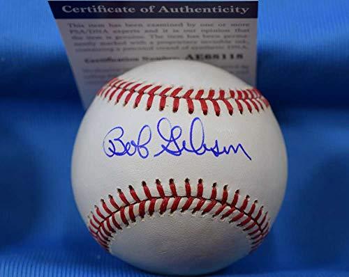 BOB GIBSON PSA DNA Cert Autograph National League ONL Hand Signed Baseball