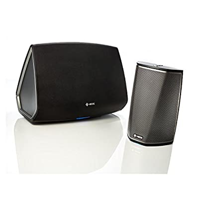 Denon HEOS 1 + 5 Wireless Multiroom Digital Music System, Black (HEOS1+5BK)