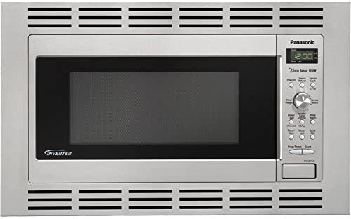 Panasonic NN-SD762S Stainless 1250W 1.6 Cu. Ft. Countertop/Built-in Microwave with Inverter Technology
