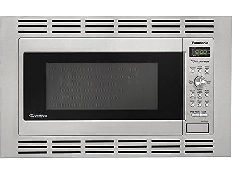 Amazon.com: Panasonic Genius 1250-watt Sensor Microondas con ...
