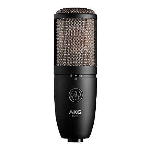AKG Pro Audio P420 Sliver Blue 9.80 x 5.50 x 9.00 inches 3101H00430