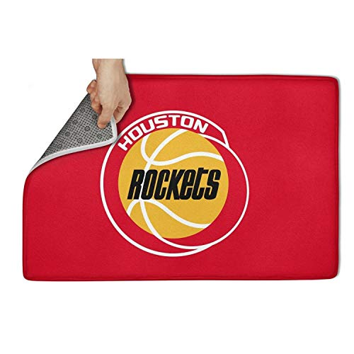 Houston Rockets Earring - WEARET Blanket World Series Door Mat Carpet Entrance Front Welcome Rugs